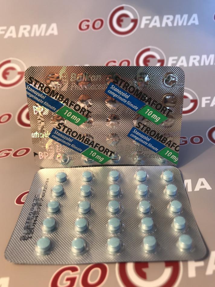 Strombafort 10 mg: что это?